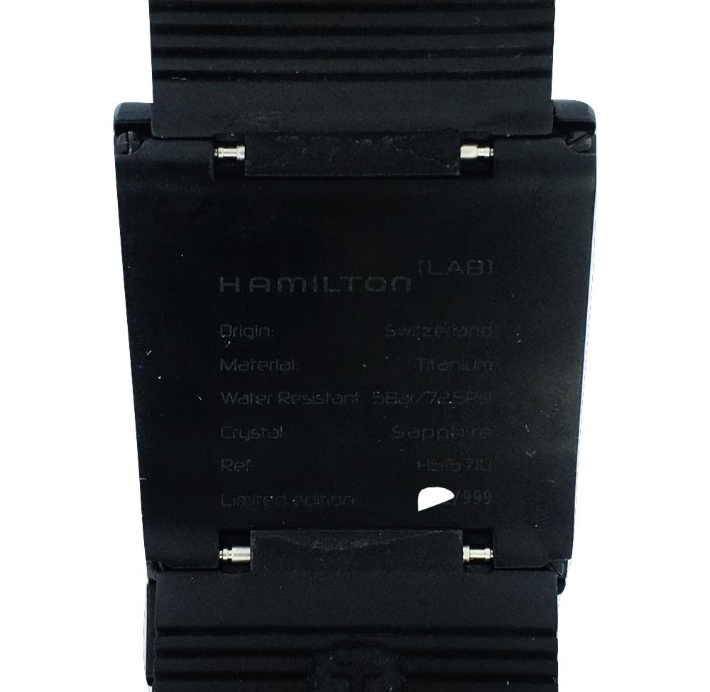 Montre occasion Hamilton LAB ODC-X02.