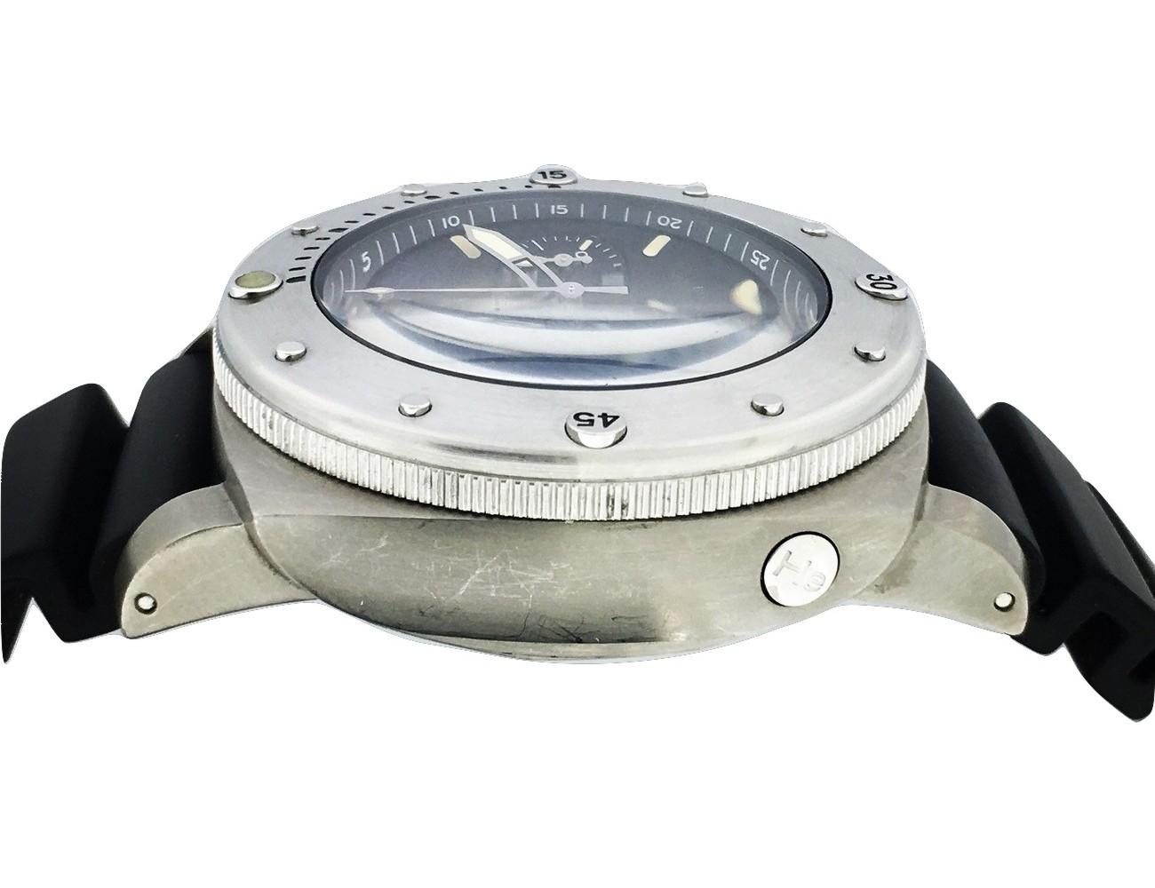Montre occasion Panerai Luminor Submersible Slytech PAM00202 série limitée a 500 pièces.