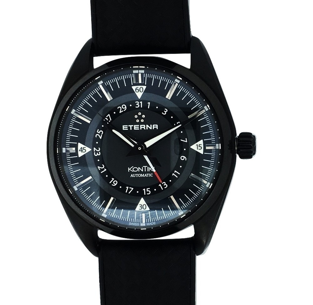 Montre occasion Eterna Kontiki Four-Hands.