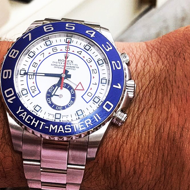 Montre occasion Rolex Yacht Master II 116680.