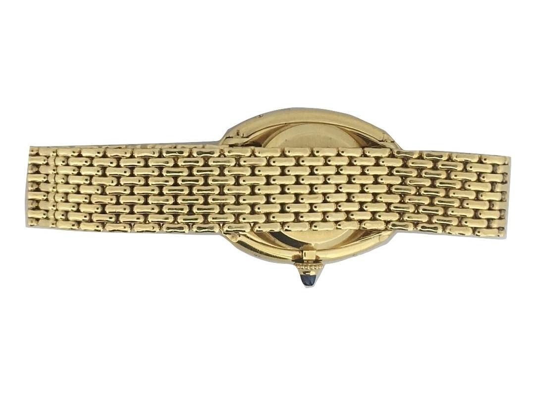 Montre occasion Cartier Baignoire vintage.