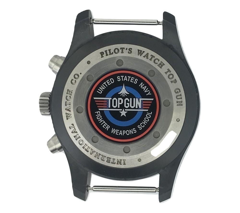Montre occasion I.W.C Pilot Chronographe Edition Top Gun.