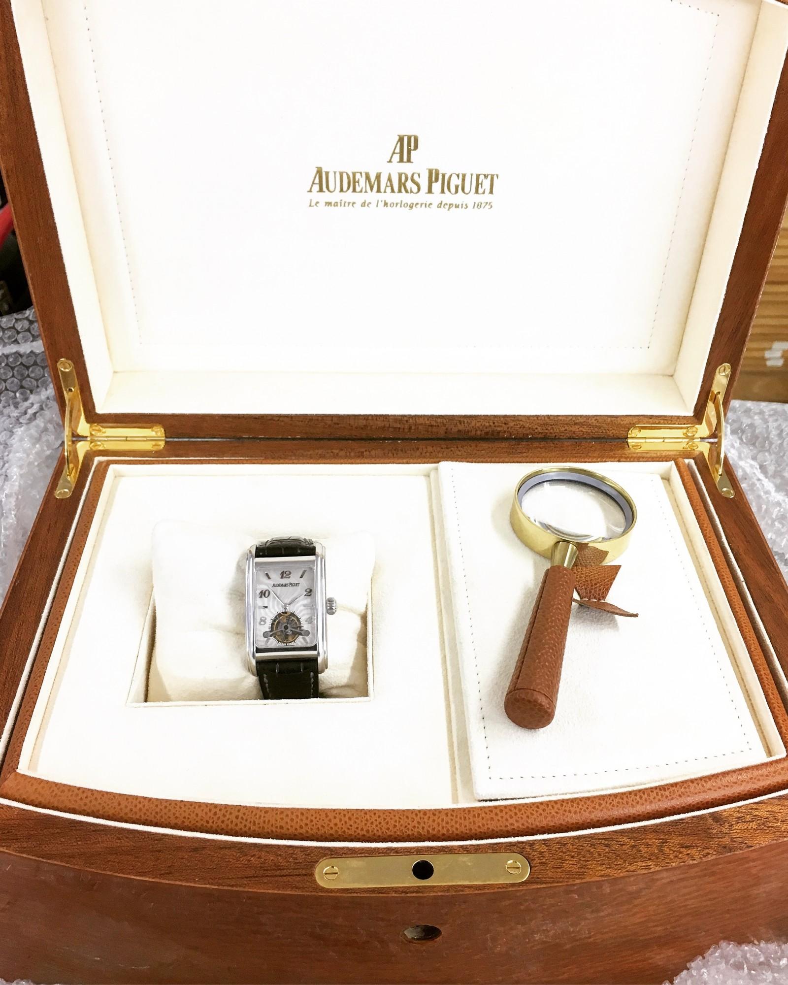 Montre occasion Audemars Piguet Edward Piguet Tourbillon Platine 25956PT.