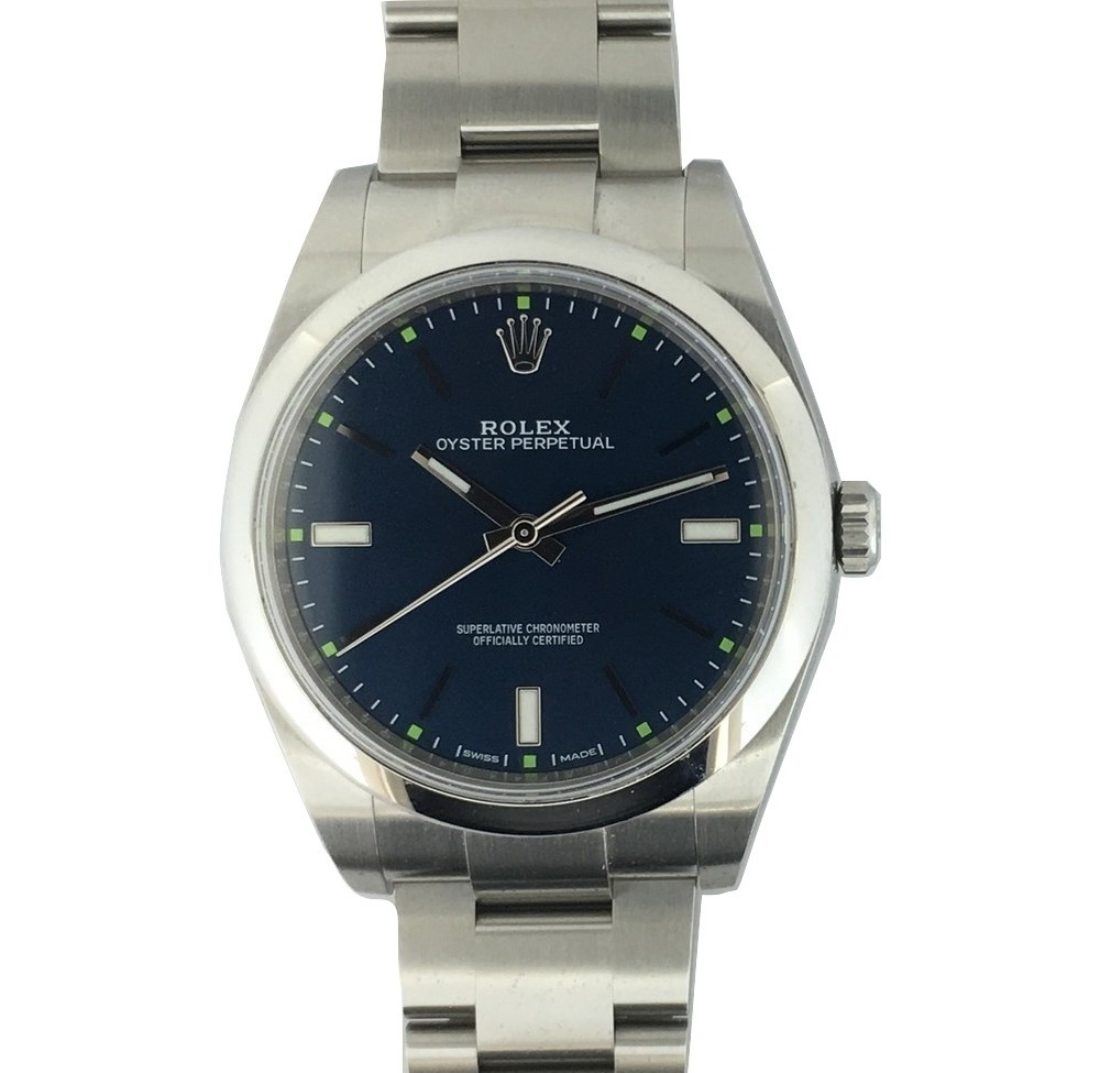Montre Occasion Rolex Oyster Perpetual 114300