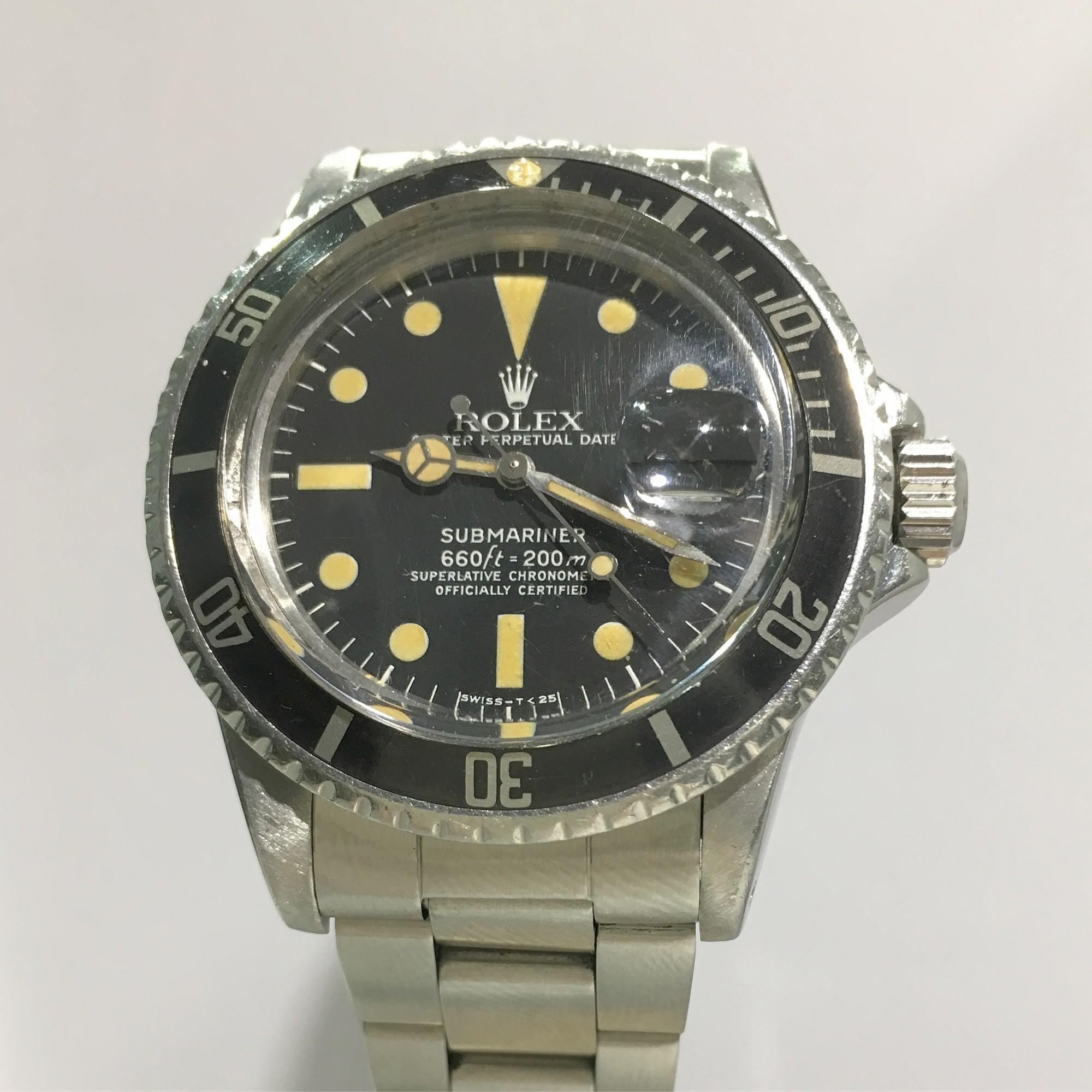 Montre occasion Rolex Submariner Date 1680 Mark I.