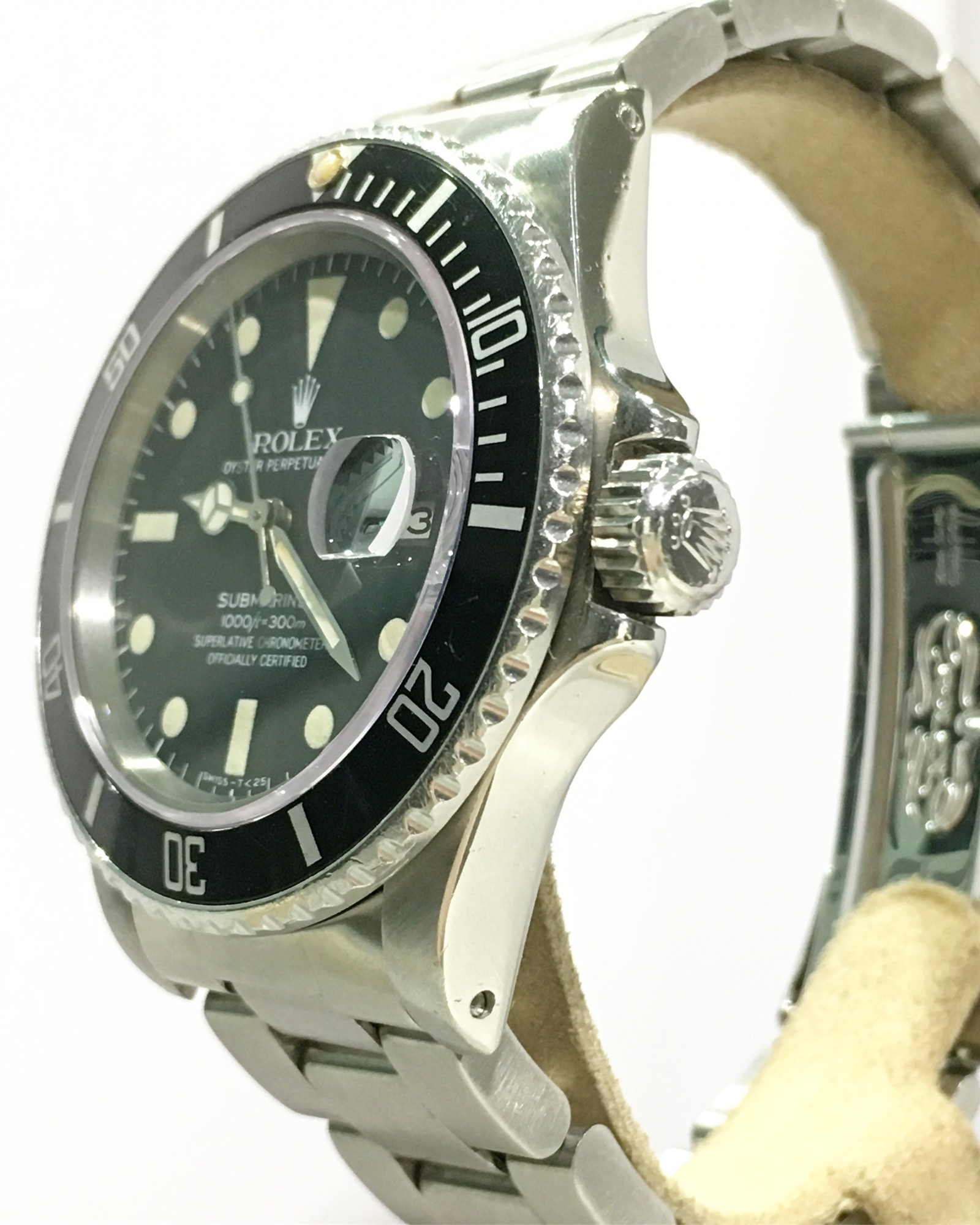 Montre occasion Rolex Submariner Date 16800.
