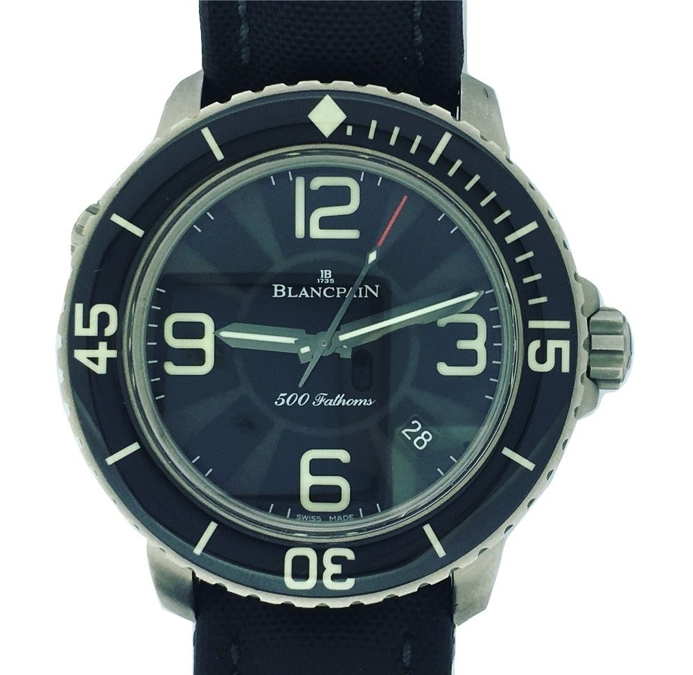 Montre occasion Blancpain Fifty Fathoms 500.