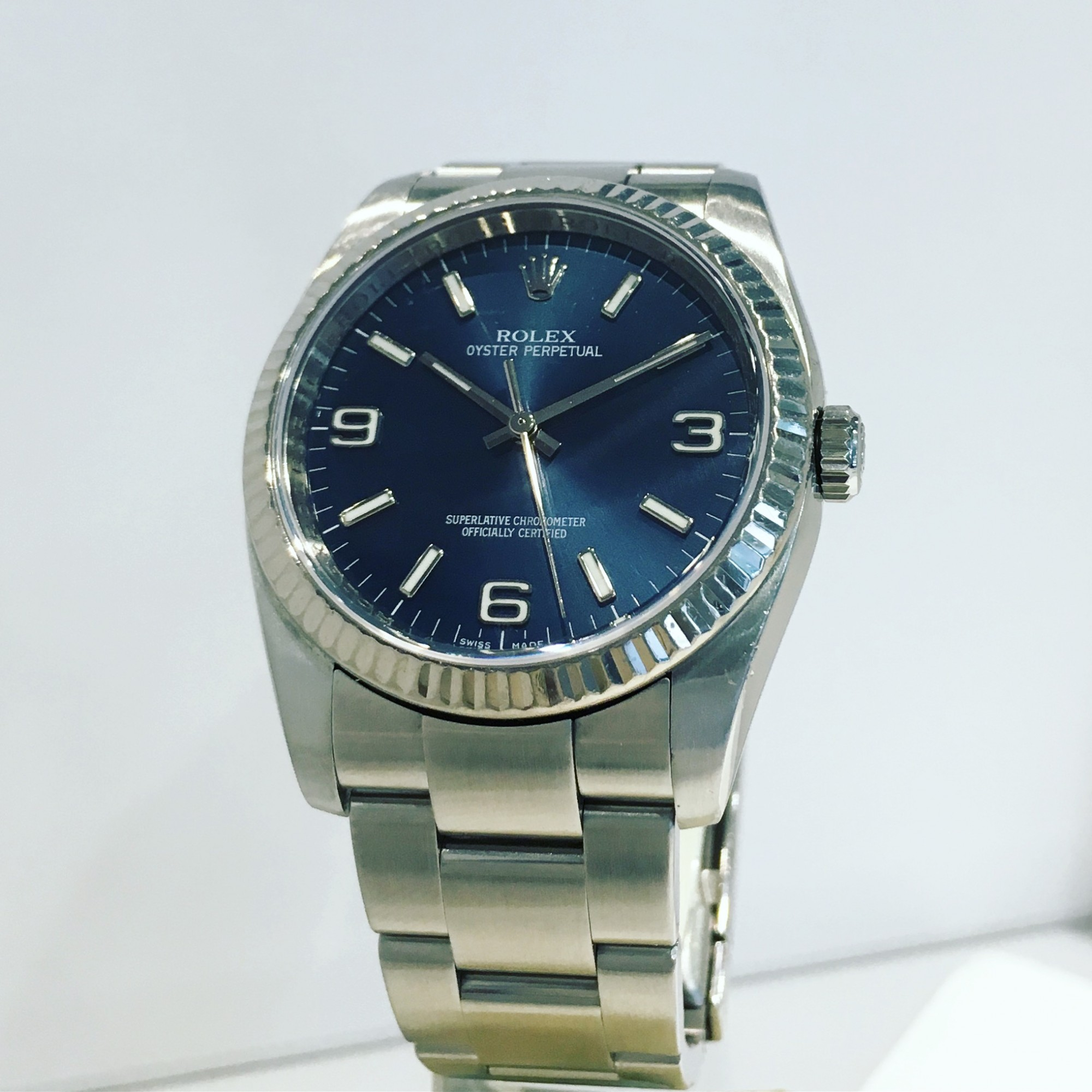 Montre occasion Rolex Oyster Perpetual 116034.