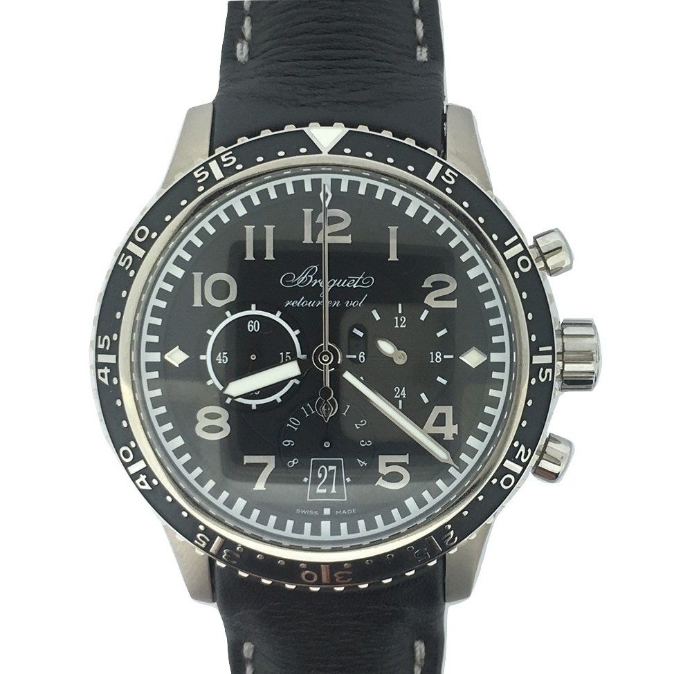 montre occasion breguet type xxi 3810 chronographe flyback achat montre aix marseille berenger. Black Bedroom Furniture Sets. Home Design Ideas