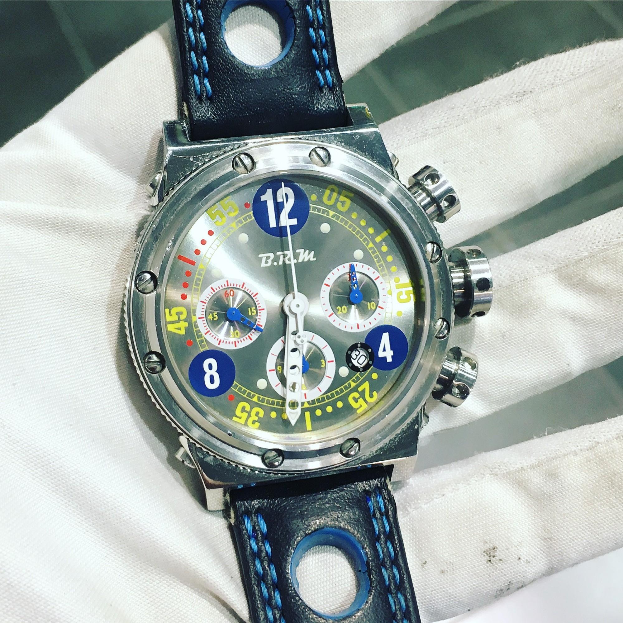 Montre occasion B.R.M V15 Chronographe.