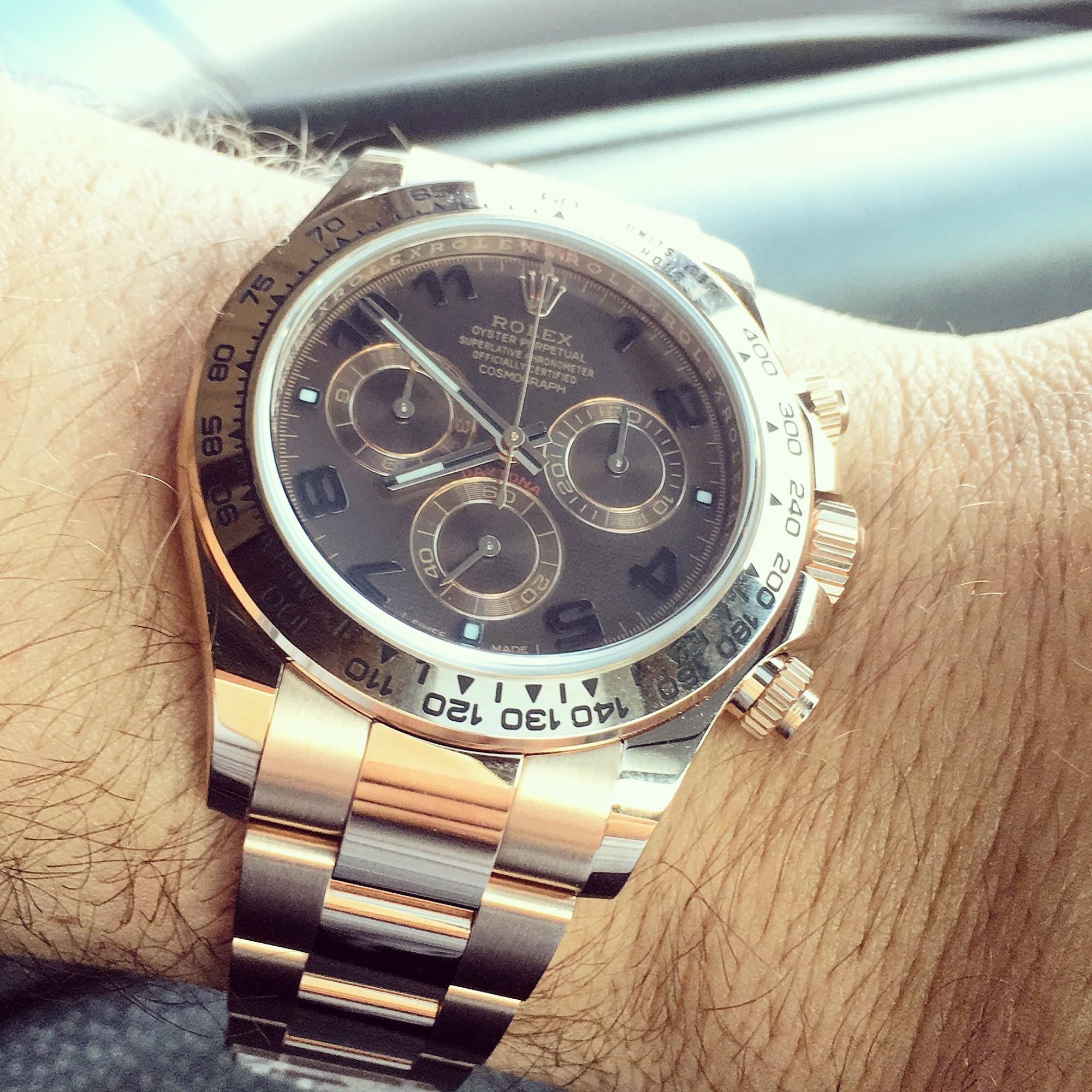 Montre occasion Rolex Daytona 116505.