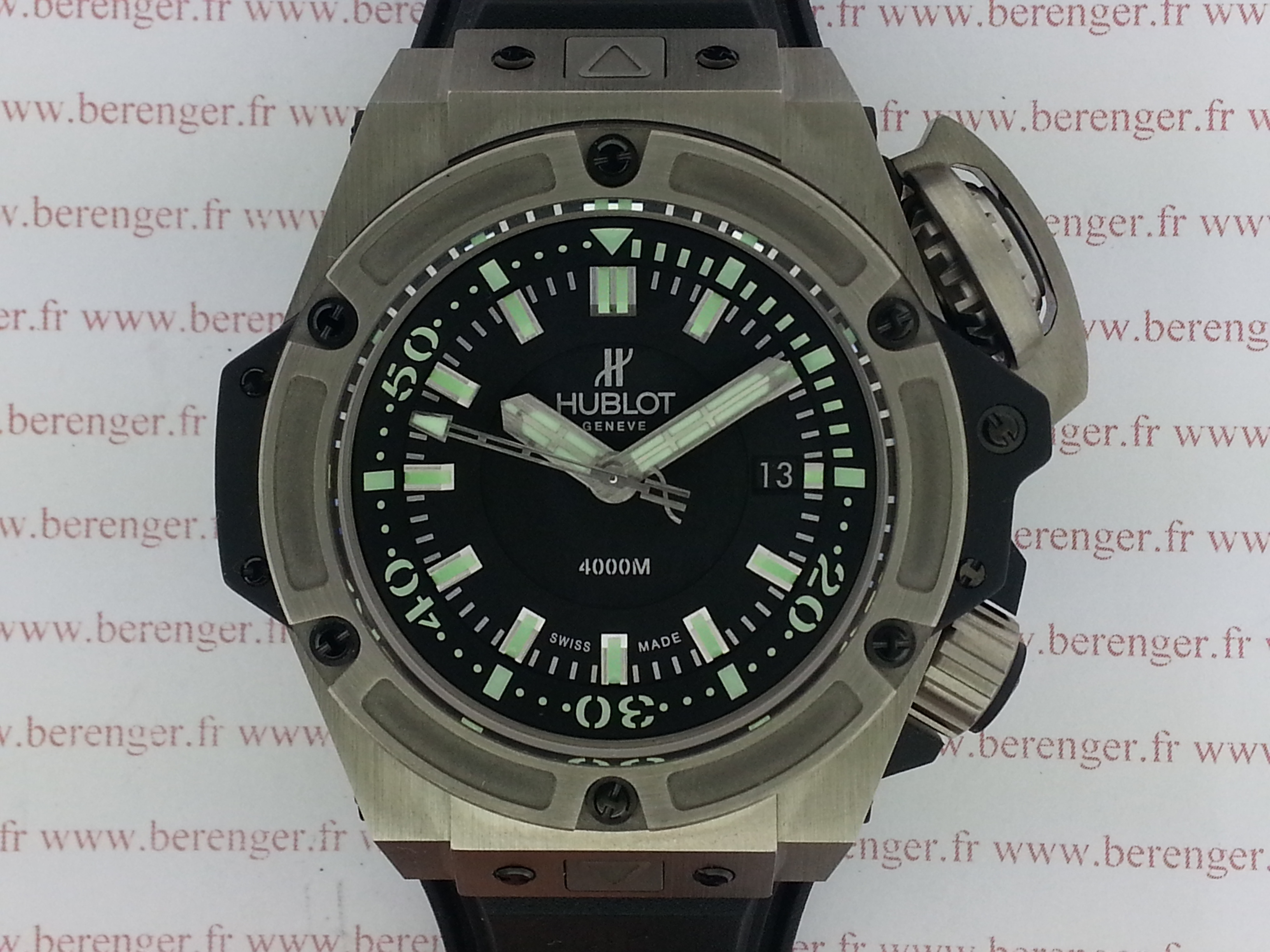 Montre occasion Hublot King Power Oceanographic 4000m