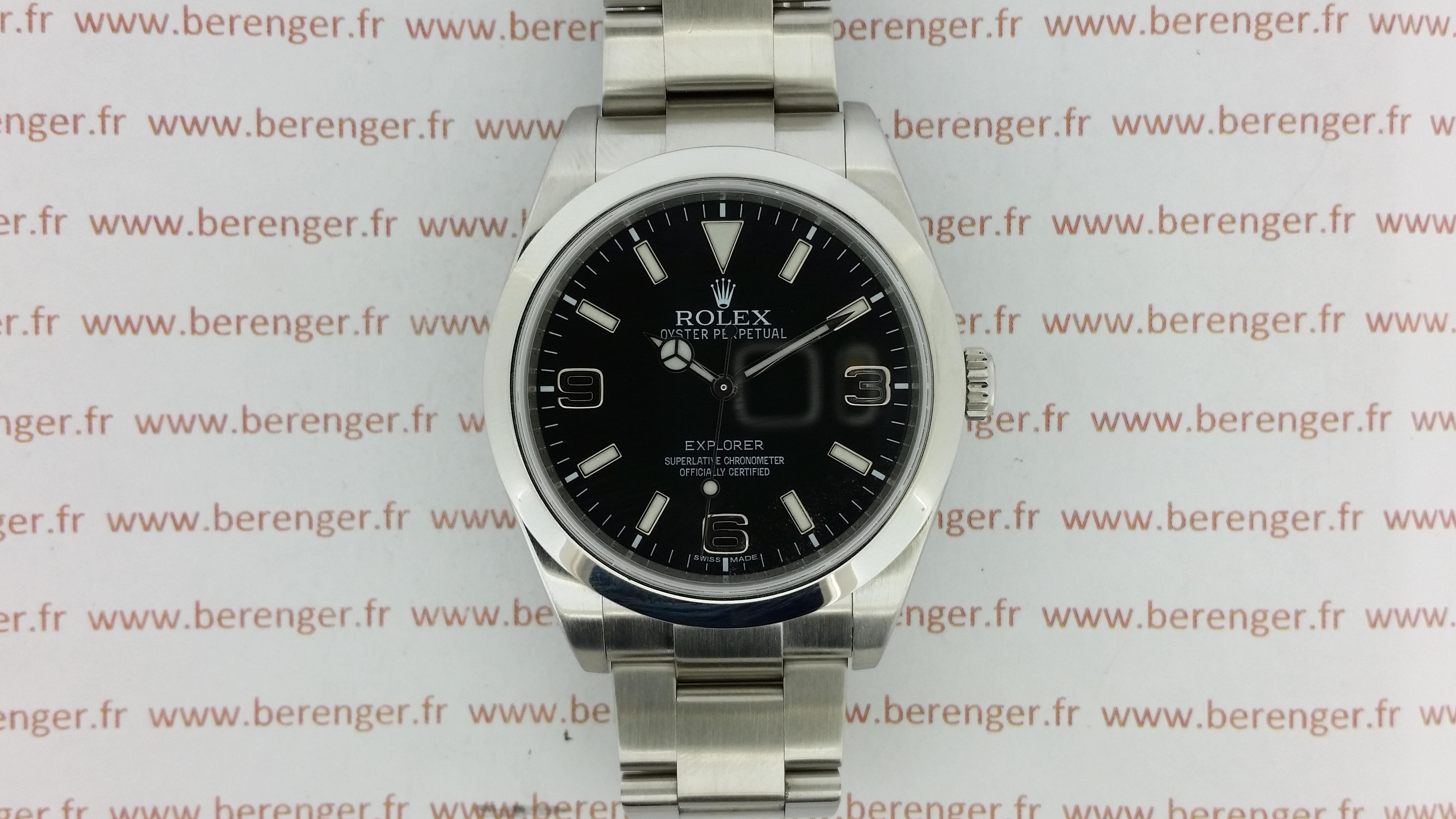 Montre occasion Rolex Explorer I 214270.