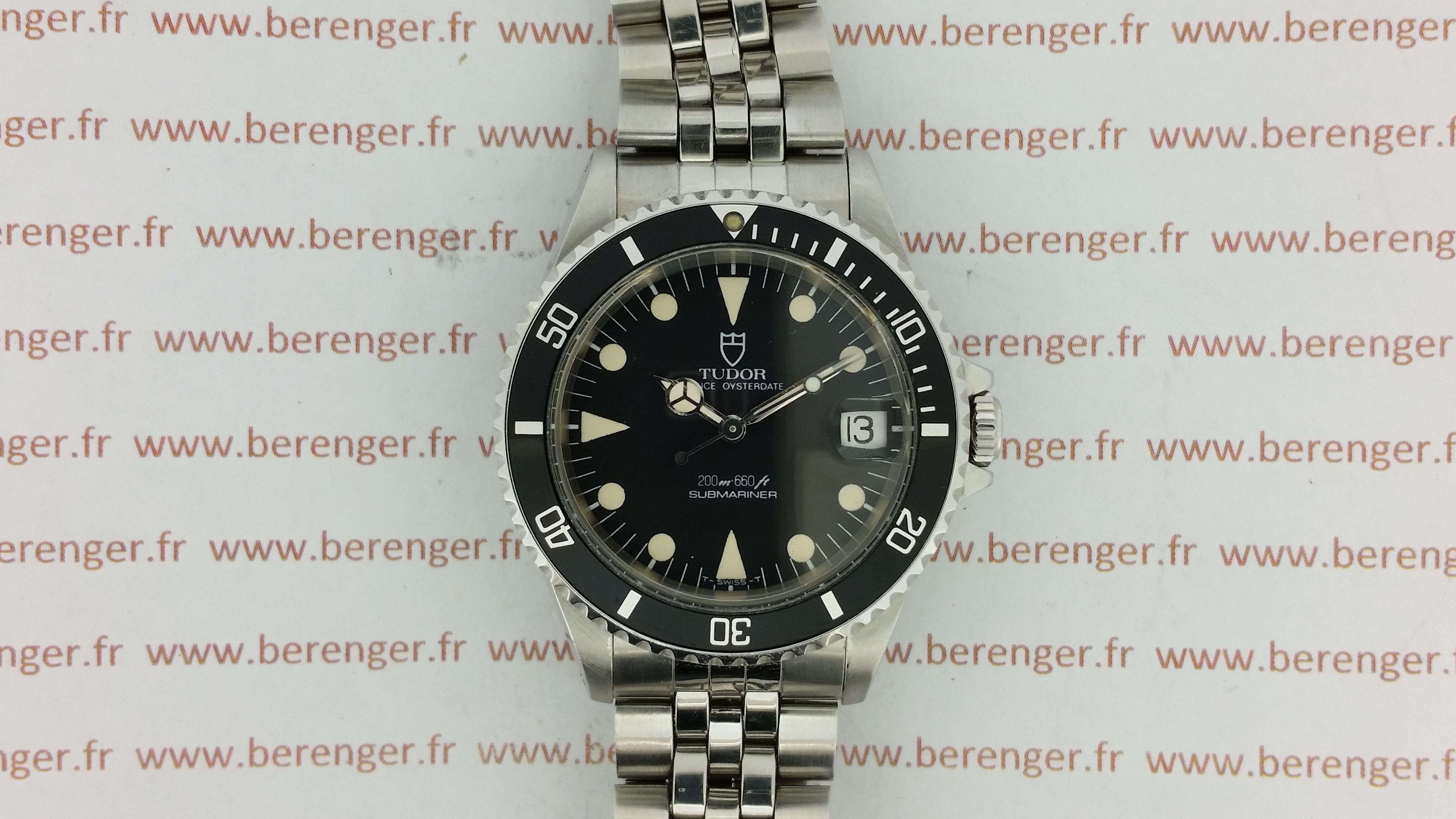 Montre occasion Tudor Prince oyster date Submariner 76000.