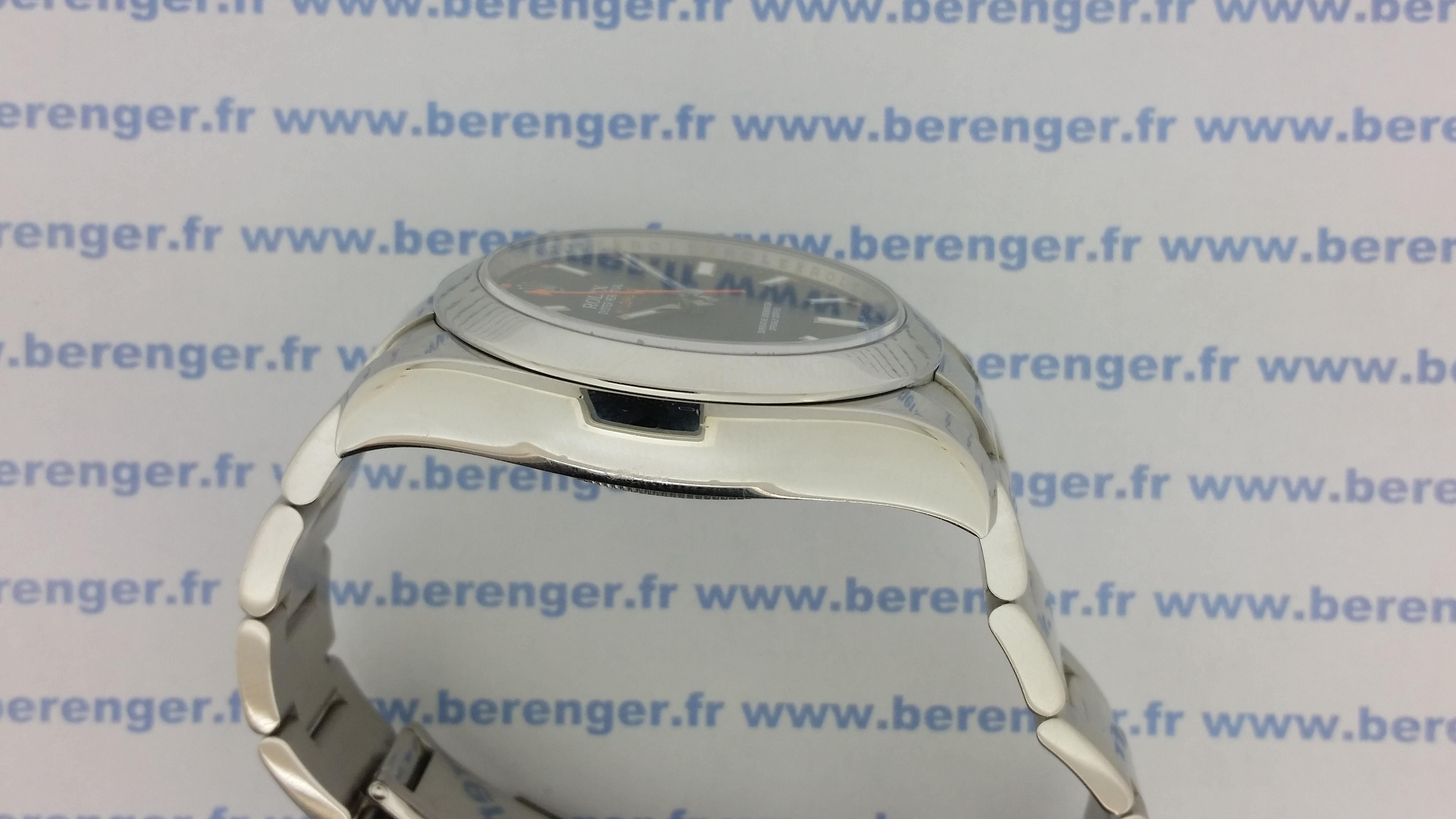 Montre occasion Rolex Milgauss 116400.