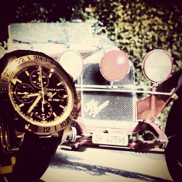 Montre occasion Chopard Mille Miglia Chronographe GMT Edition limitée Alfa Roméo.