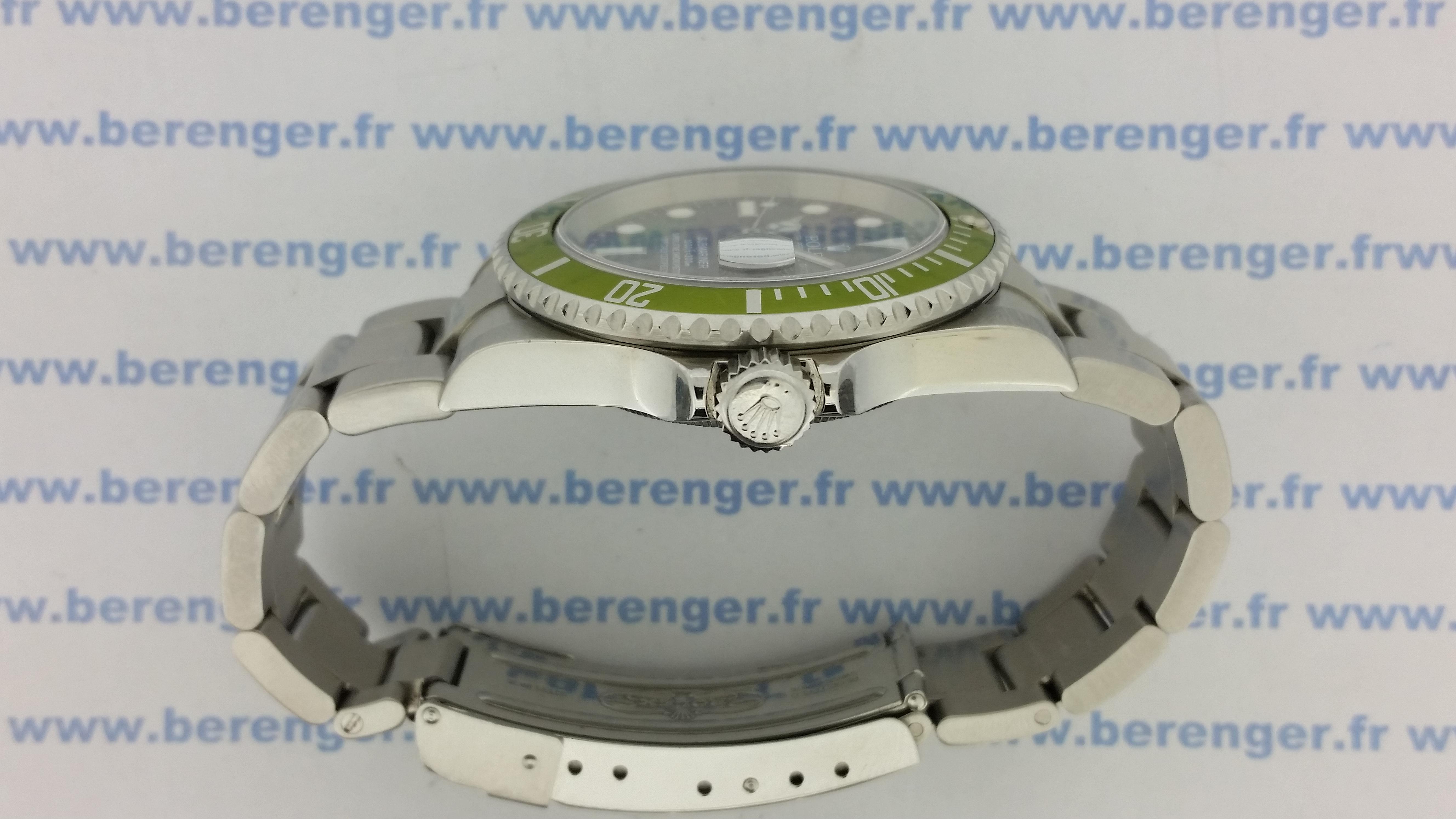 Montre occasion Rolex Submariner 16610 LV.