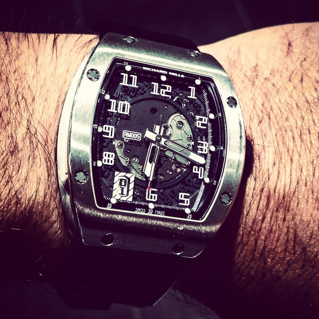 Montre occasion Richard Mille RM005.