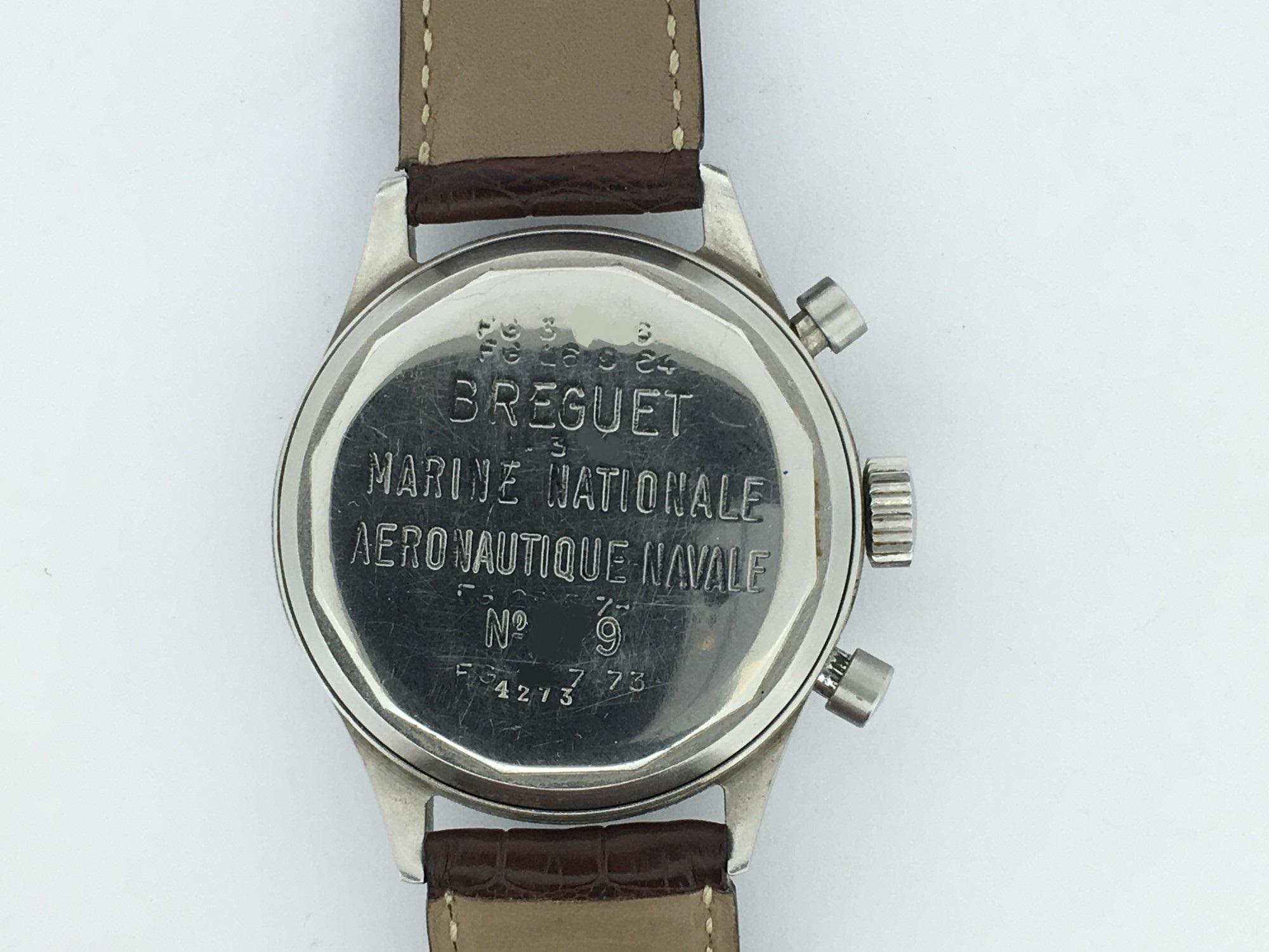 Montre occasion Breguet Type XX Vintage Marine Nationale