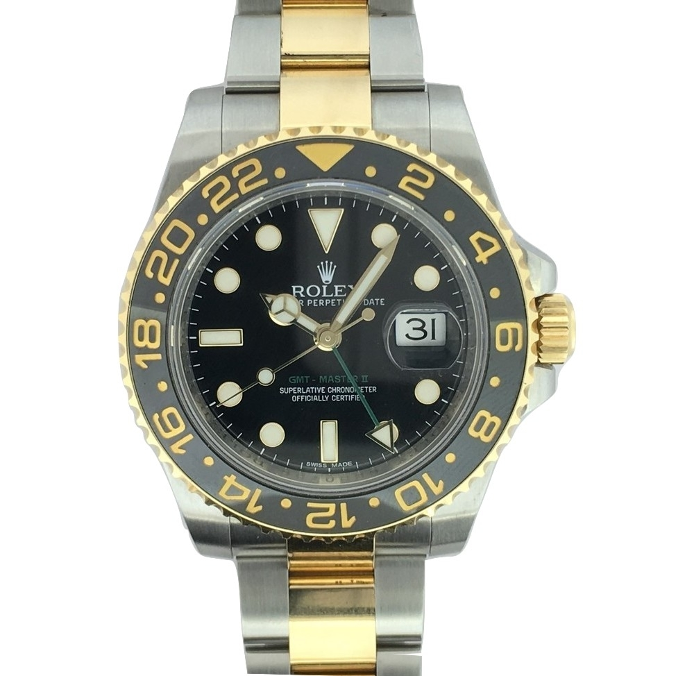 Montre occasion Rolex GMT Masters II 116713LN.