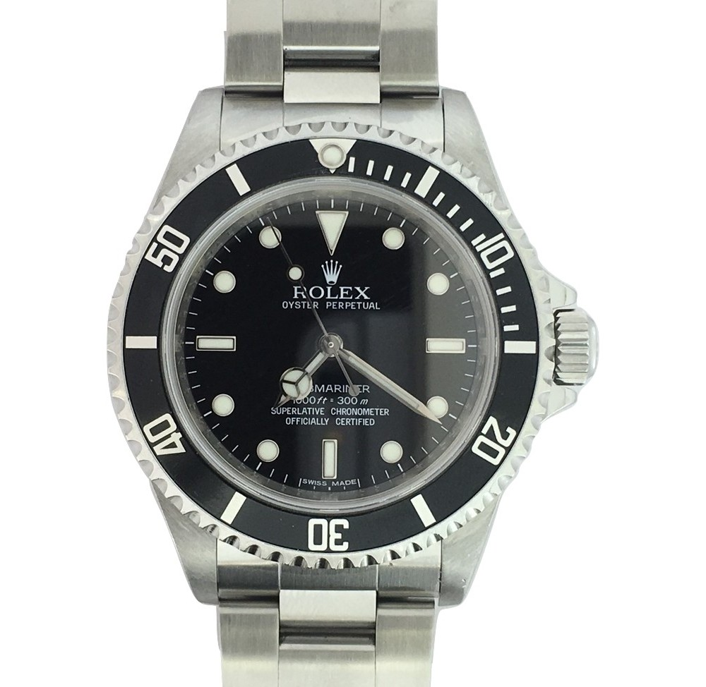 Montre occasion Rolex Submariner no date 14060M.