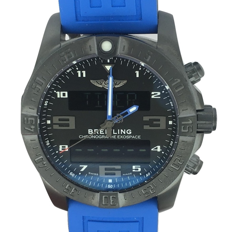 Montre occasion Breitling Exospace B55 Night mission.