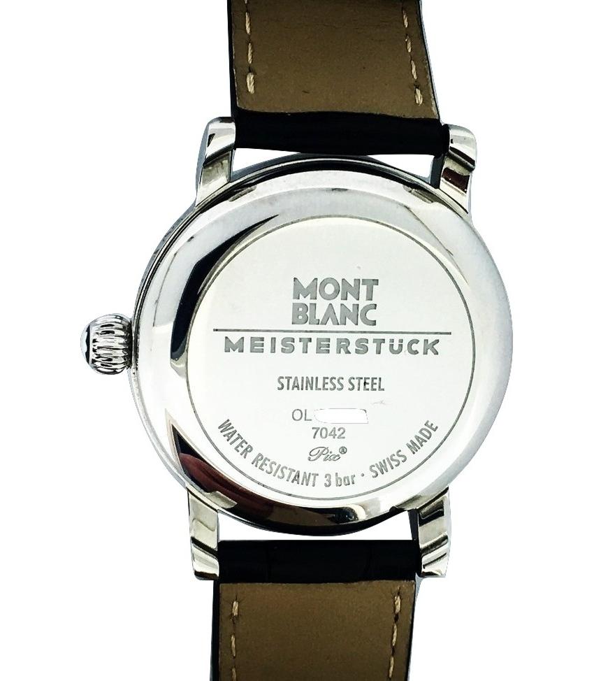 Montre occasion Montblanc Meisterstuck star 7042.